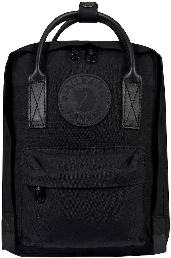 Fjallraven Kanken No.2 Black Mini Backpack, 7L Black