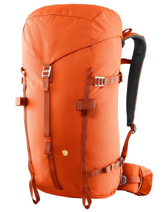 Fjallraven Bergtagen 38 S-M Mountaineering Backpack, 38L Orange