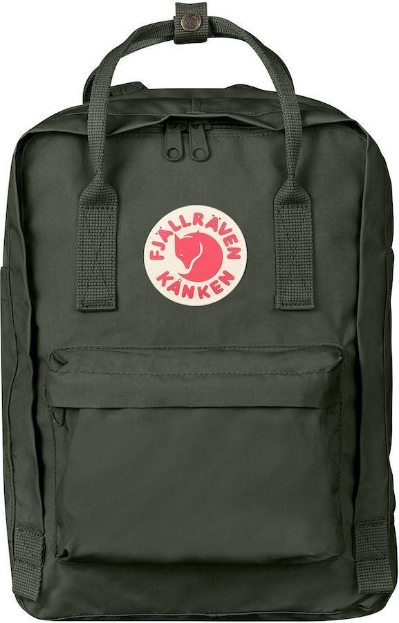 """Fjallraven Kanken Laptop 13"""" Day Pack/Backpack, 13L Deep Forest"""