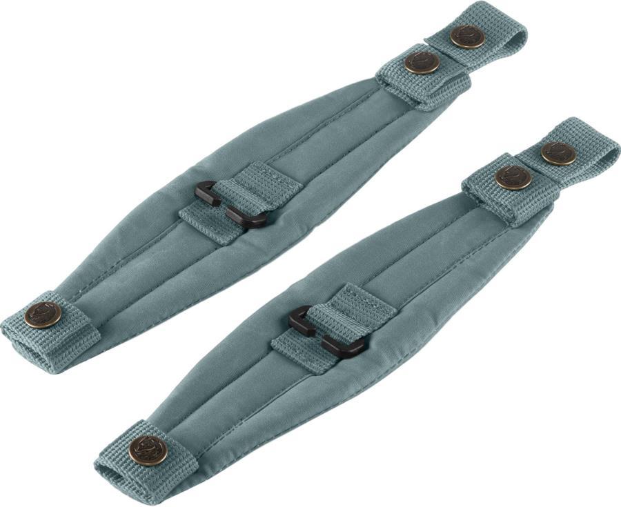 Fjallraven Kanken Mini Backpack Shoulder Pads, One Size Frost Green