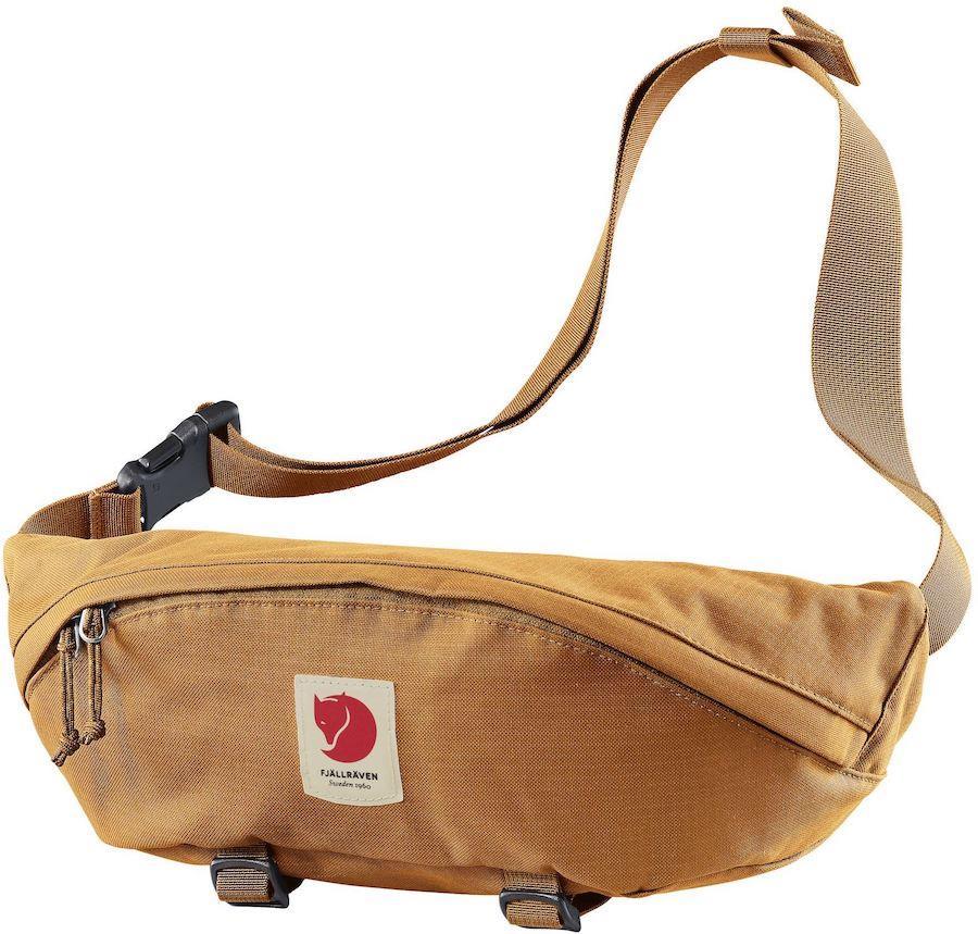 Fjallraven Ulvö Hip Pack Large Waist Bag/Bum Bag, Red Gold