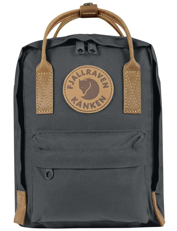 Fjallraven Kanken No.2 Mini Backpack, 7L Super Grey