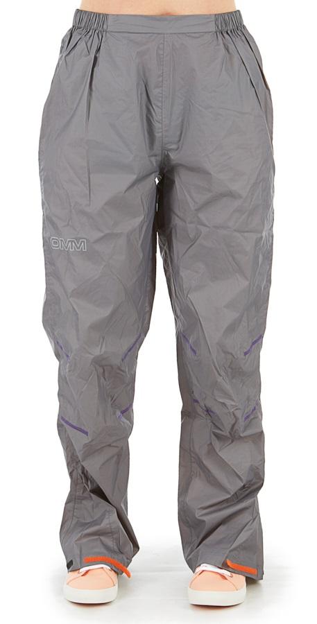 OMM Womens Halo Pant Women's Waterproof Trousers, M Grey