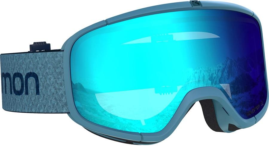 Salomon Four Seven Mid Blue Snowboard/Ski Goggles Forget Me Not