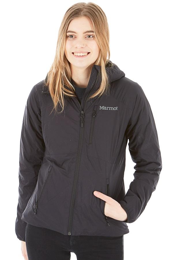 Marmot Novus Hoody Women's Insulated Jacket, UK 12 Black