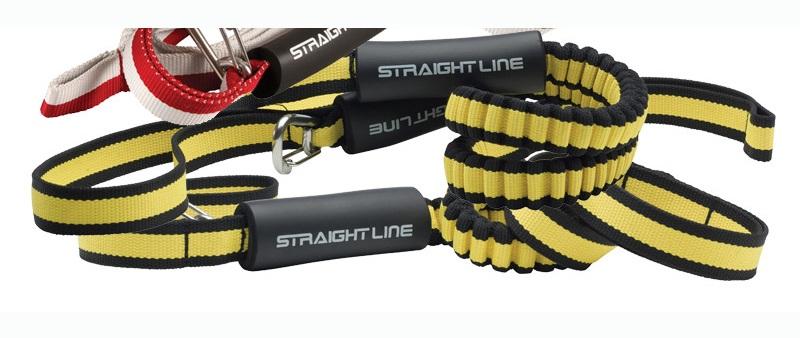 Straight Line Deluxe Dock Tie, 6 Ft Black Yellow