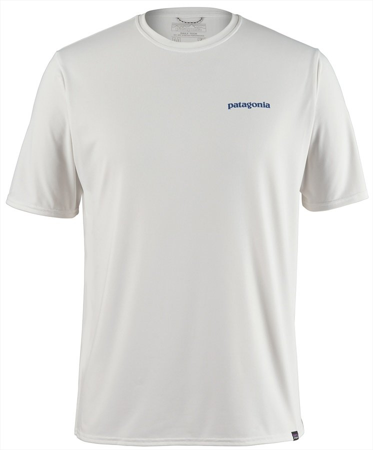 Patagonia Capilene Cool Graphic T-Shirt, L White