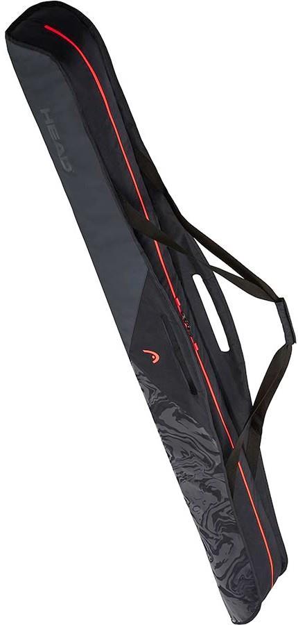 Head Single Women's Ski Bag, Grey/Peach