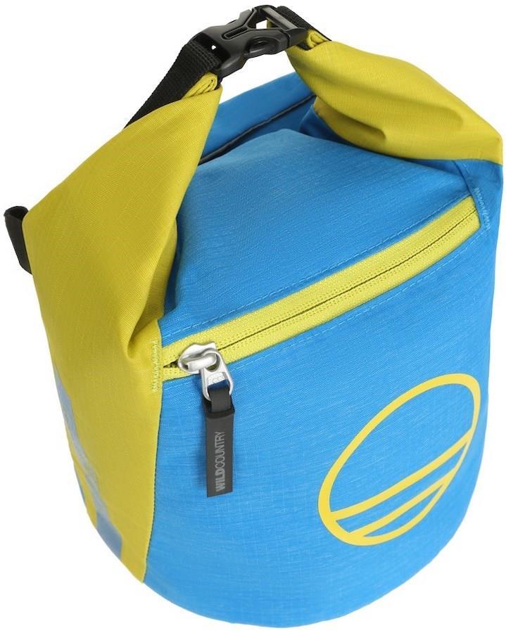 Wild Country Spotter Bouldering Chalk Bag, Citronelle/Detroit Blue