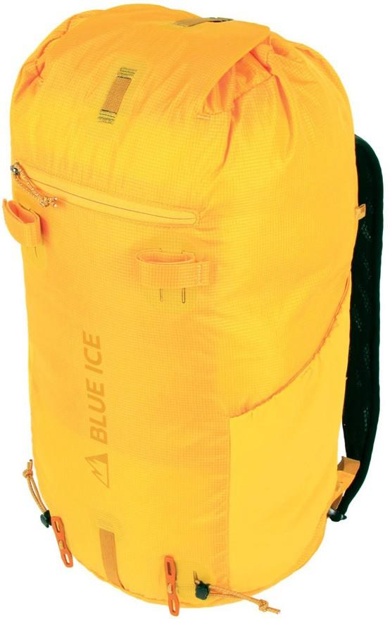 Blue Ice Dragonfly 25 Ultralight Alpine Backpack, 25L Spectra Yellow