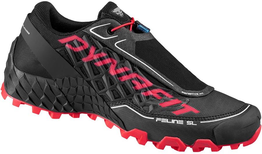 Dynafit Feline SL Women's Trail Running Shoes, 7.5 Black/Fluo Pink