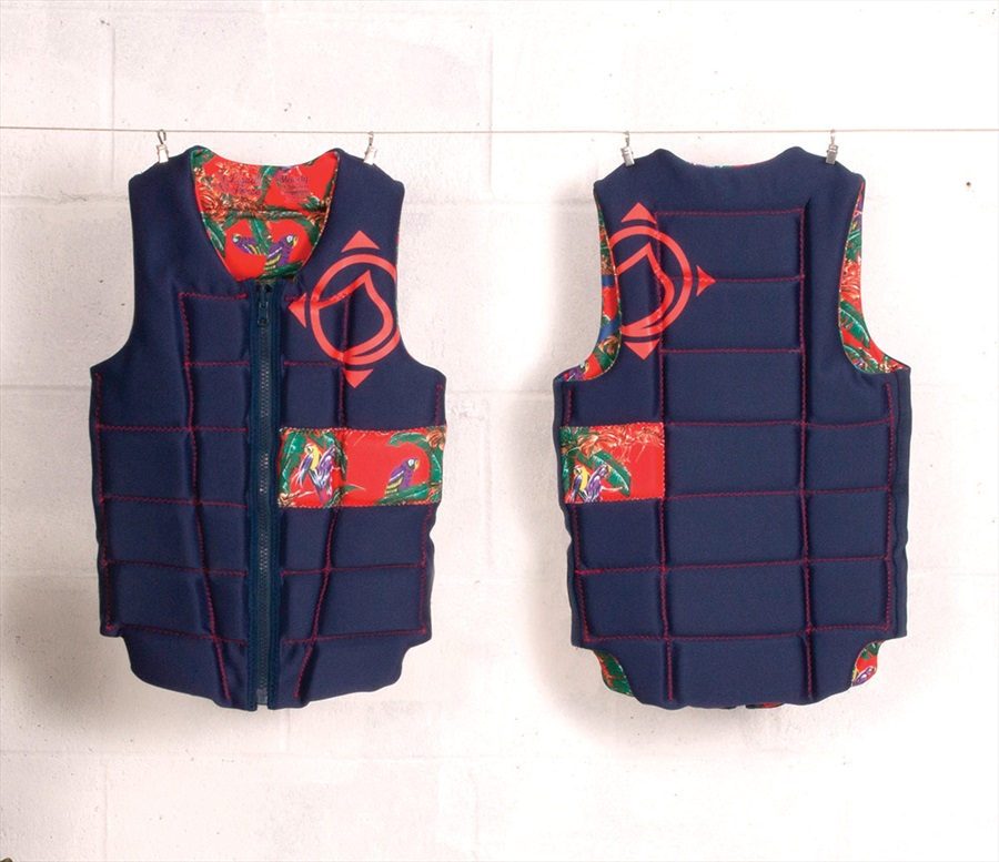 Liquid Force Melody Ladies Wakeboard Impact Vest, S Tropical