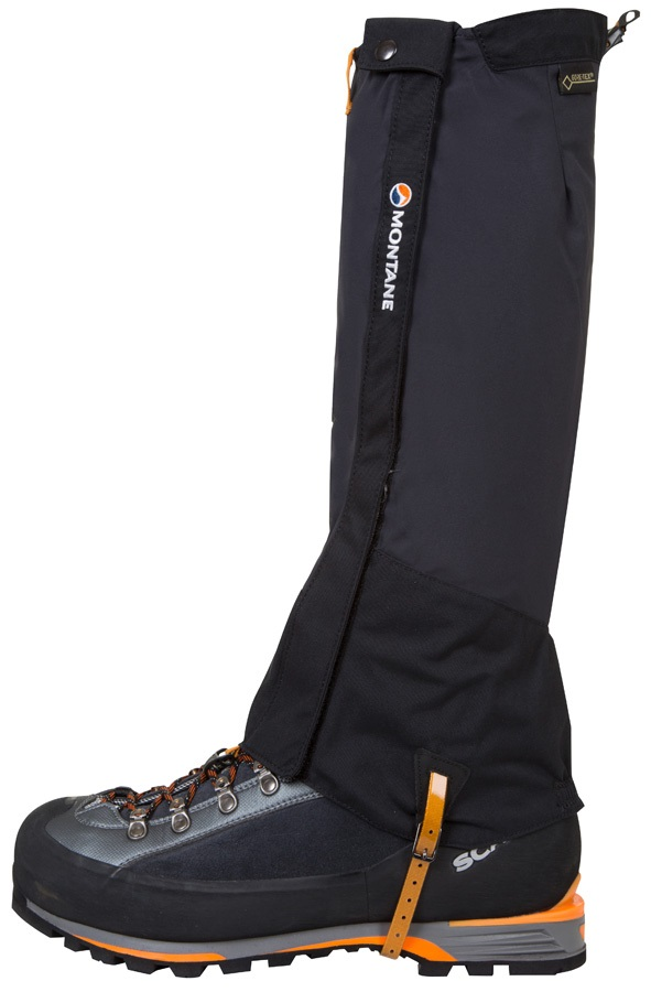 Montane Endurance Pro Long Boot Gaiter, S Black