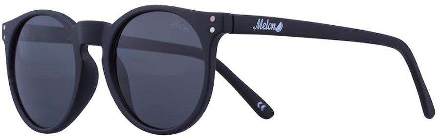 Melon Echo Smoke Polarized Sunglasses, Blackout