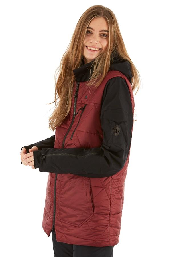 Volcom Vault 4-in-1 Women's Ski/Snowboard Jacket S Scarlet