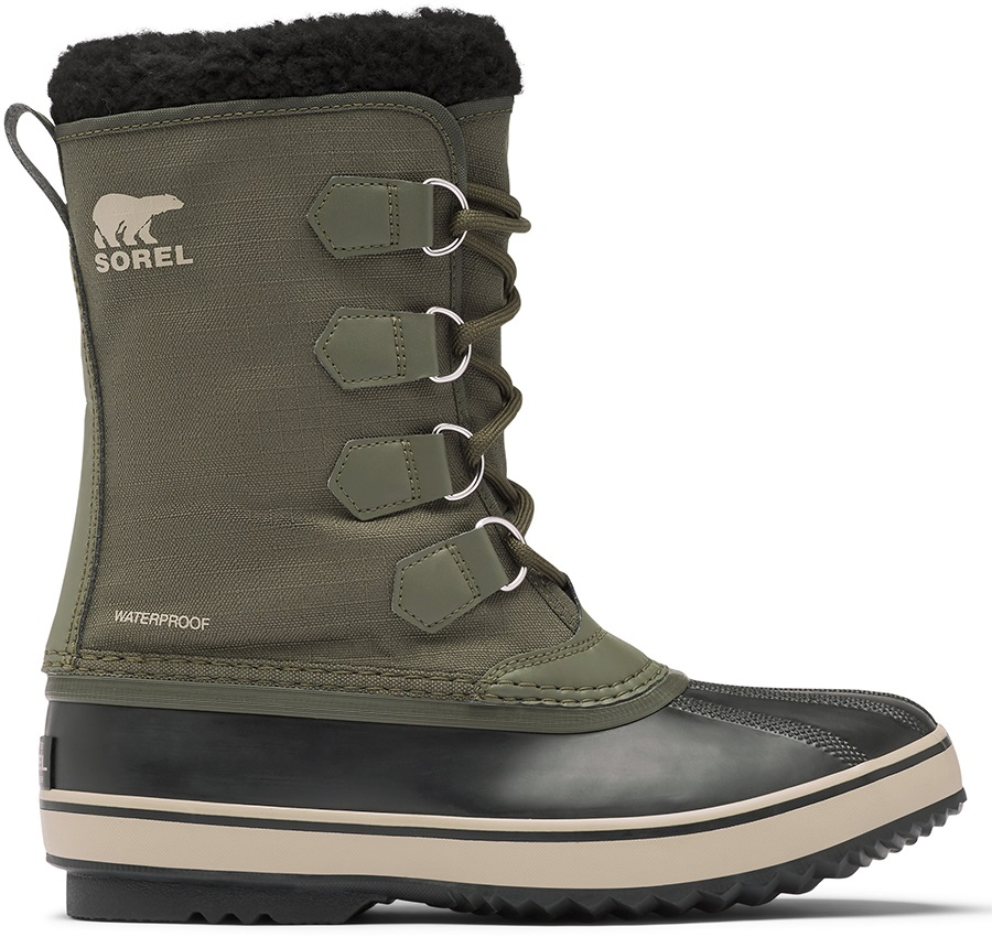 Sorel Adult Unisex 1964 Pac Nylon Men's Winter Snow Boots, Uk 12 Alpine Tundra