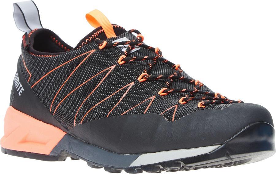Dolomite Crodarossa Hiking/Walking Shoes, UK 7.5 Black/Fluo Red