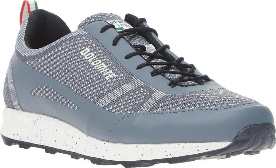 Dolomite 76 Knit Trainers, 11.5 Gunmetal Grey
