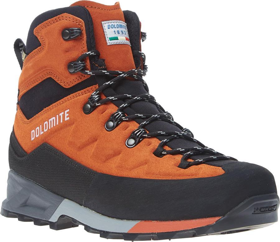 Dolomite Steinbock GTX Hiking Boots, UK 8.5 Ochre Red