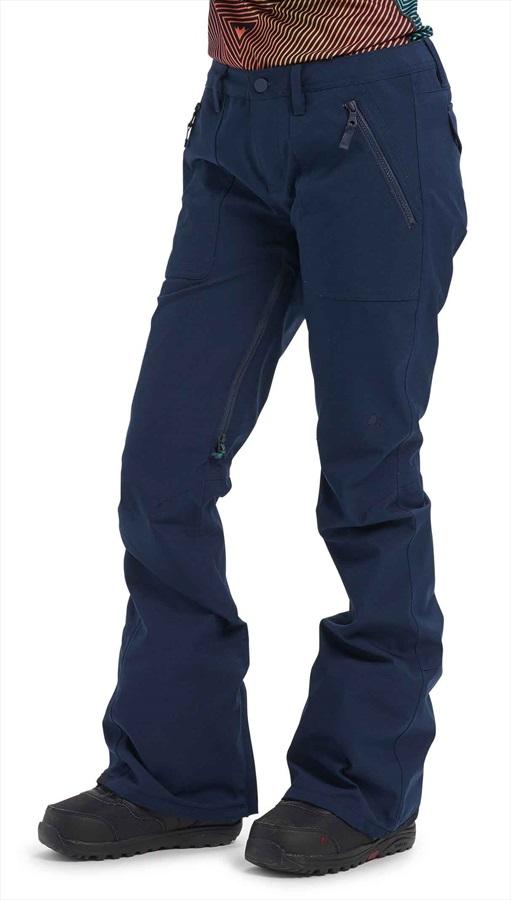 Burton Vida Women's Ski/Snowboard Pants, M Dress Blue