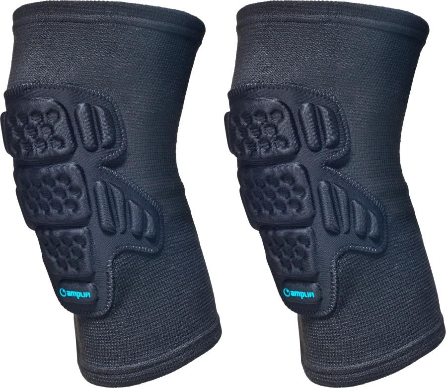 Amplifi Knee Sleeve Ski/Snowboard Protection Knee Pads, M Black