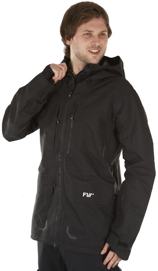 FW Manifest 3L Snowboard/Ski Jacket, L Slate Black