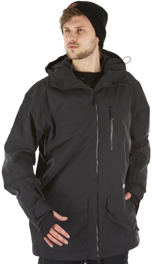 FW Men's Catalyst 2L Snowboard/Ski Jacket, L Slate Black