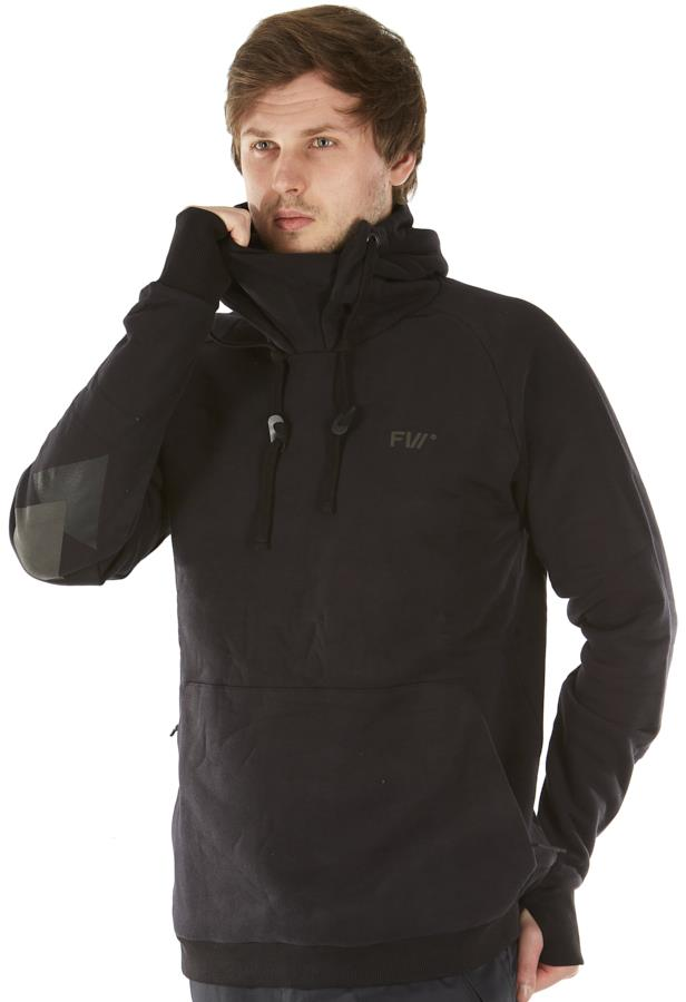 FW Catalyst Tech Technical Pullover Hoodie, L Slate Black