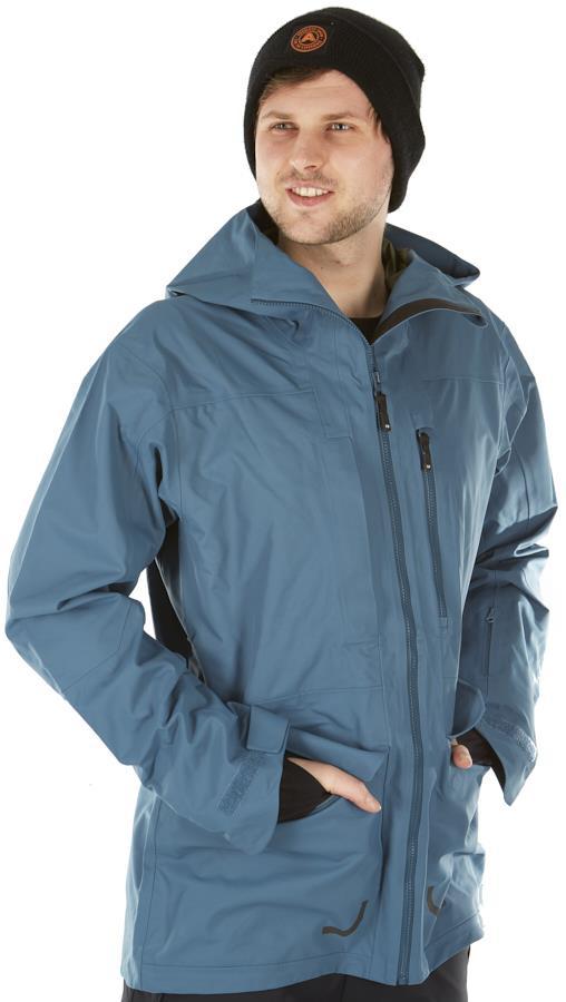 FW Manifest 3L Snowboard/Ski Jacket, L Ice Blue