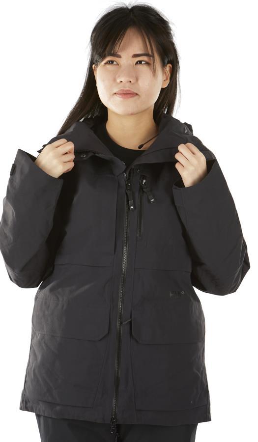 FW Catalyst 2L Women's Snowboard/Ski Jacket, XS Slate Black