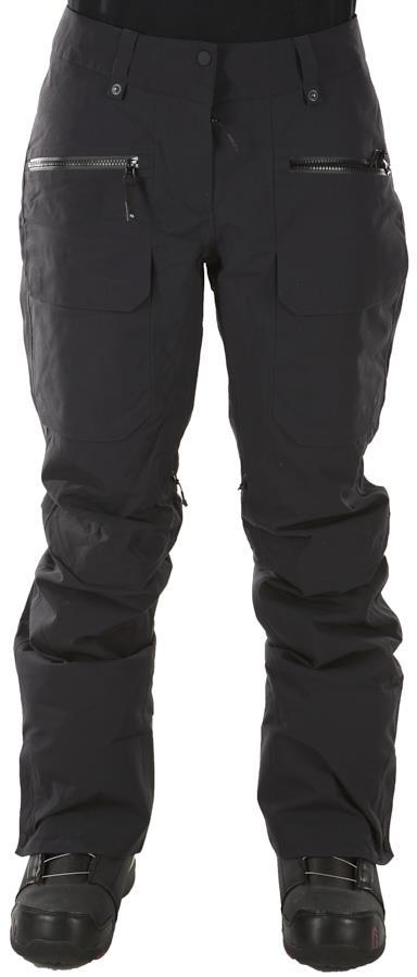 FW Catalyst 2L Women's Snowboard/Ski Pants, XS Slate Black