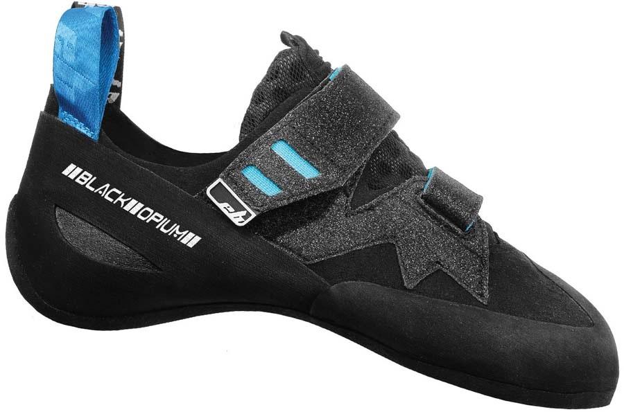 EB Women's Black Opium Rock Climbing Shoe, UK 4.5 | EU 37.5 Black/Blue
