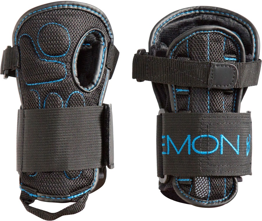 Demon Flex V2 Ski/Snowboard Wrist Guards, L/XL Black