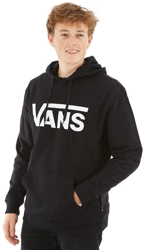 Vans Classic Pullover Hoodie Men's Hooded Sweatshirt, XL Black/White