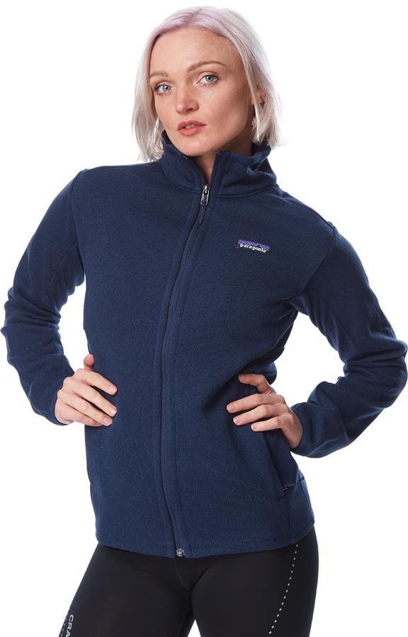 Patagonia Womens Lightweight Better Sweater Womens Fleece Jacket, Uk 14 Navy