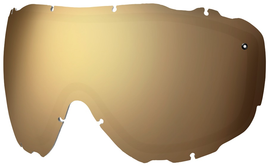 Smith Prophecy Turbo Fan Snow/Ski Goggle Spare Lens, Gold Sol-X