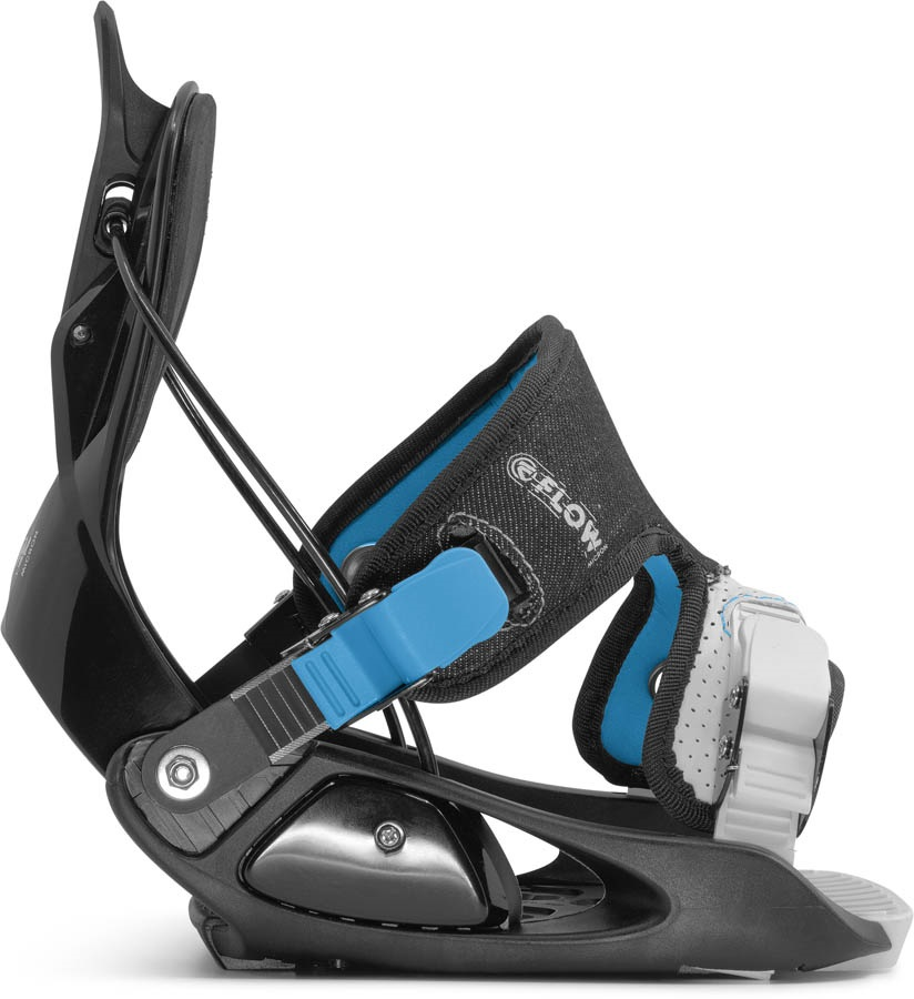 Flow Micron Kids Snowboard Bindings, S Black 2021