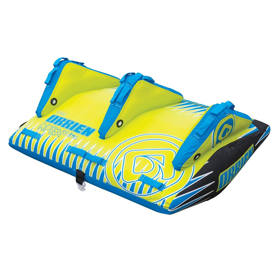 O'Brien Apex Deck Towable Inflatable Tube, 2 Rider Blue 2021