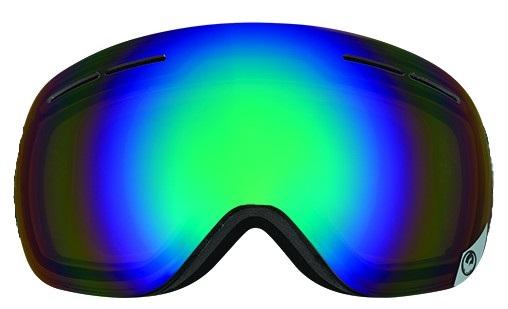 Dragon X1s Snowboard/Ski Goggle Spare Lens, One Size, Opt Flash Green