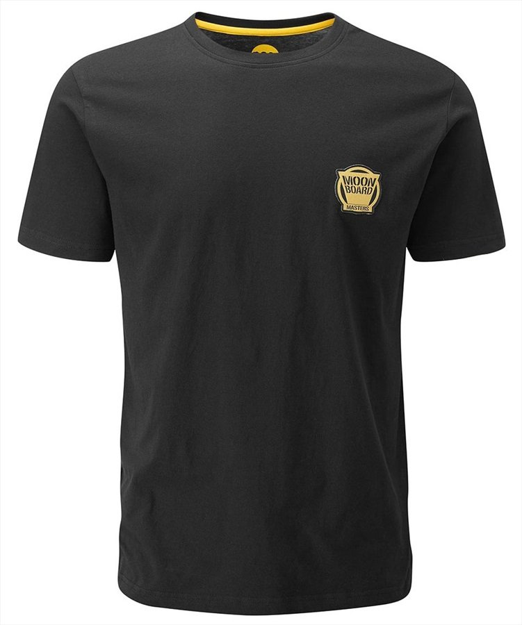 Moon MoonBoard Masters Rock Climbing T-Shirt, L Black
