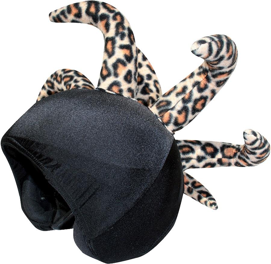 Coolcasc Show Time Ski/Snowboard Helmet Cover, Leopard Clown