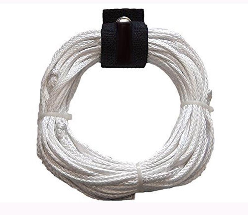 Base Wake Spectra Wakeboard Rope Line, 65' White