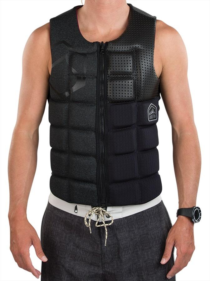 Liquid Force Flex Wakeboard Impact Vest, S Blackout