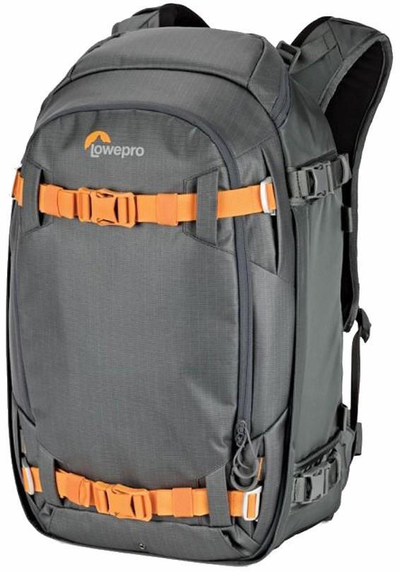 Lowepro Whistler BP 350 AW II Snowboard Camera Backpack, 46L Grey