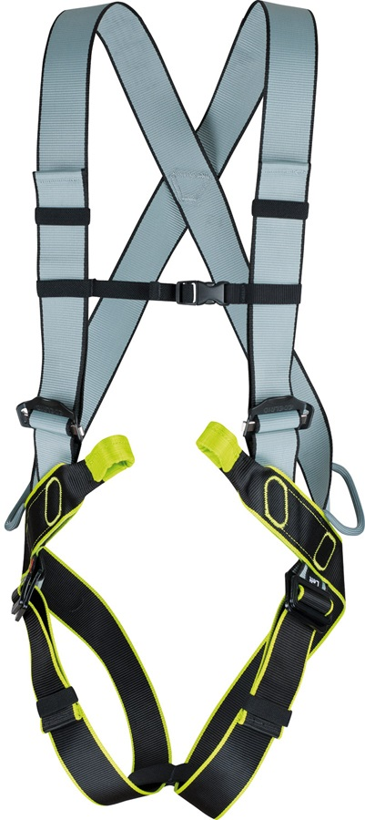 Edelrid Solid Adult Full Body Harness, L, Night/Oasis