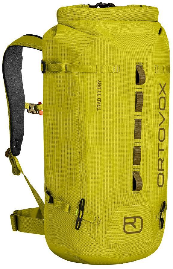 Ortovox Trad 30 Dry Weatherproof Backpack/Rucksack, 30L Dirty Daisy