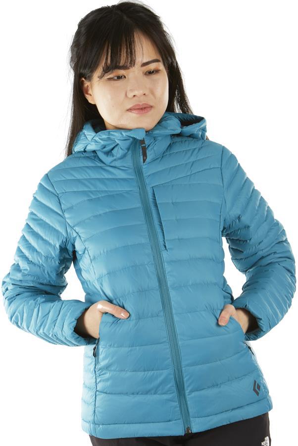 Black Diamond Access Down Hoody Women's Insulated Jacket, XS Aqua