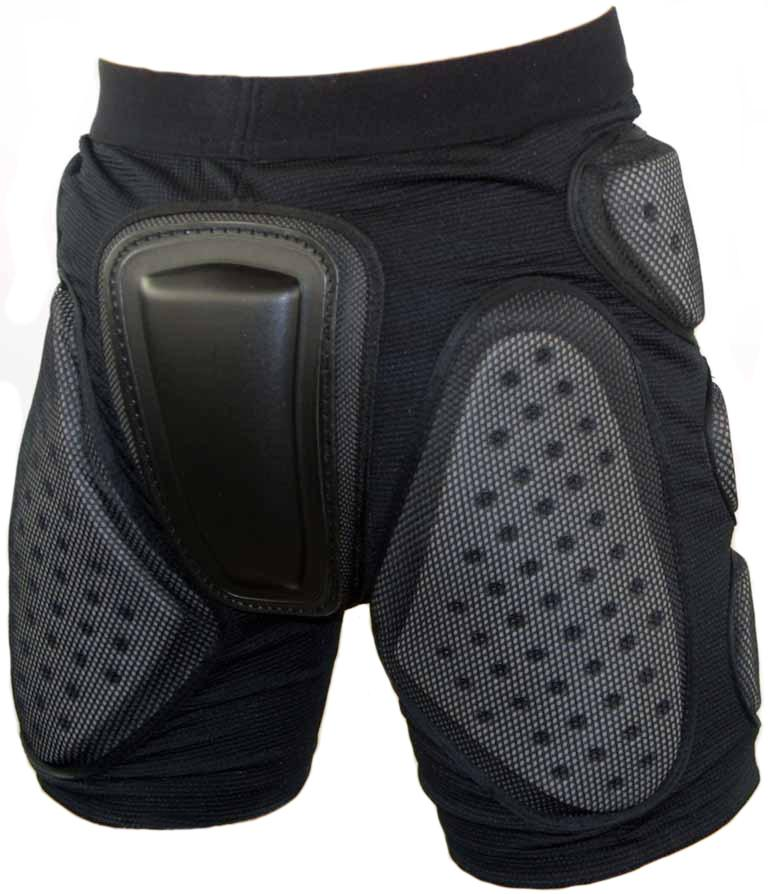 Manbi Crash Pant Impact Shorts Extra Large Black