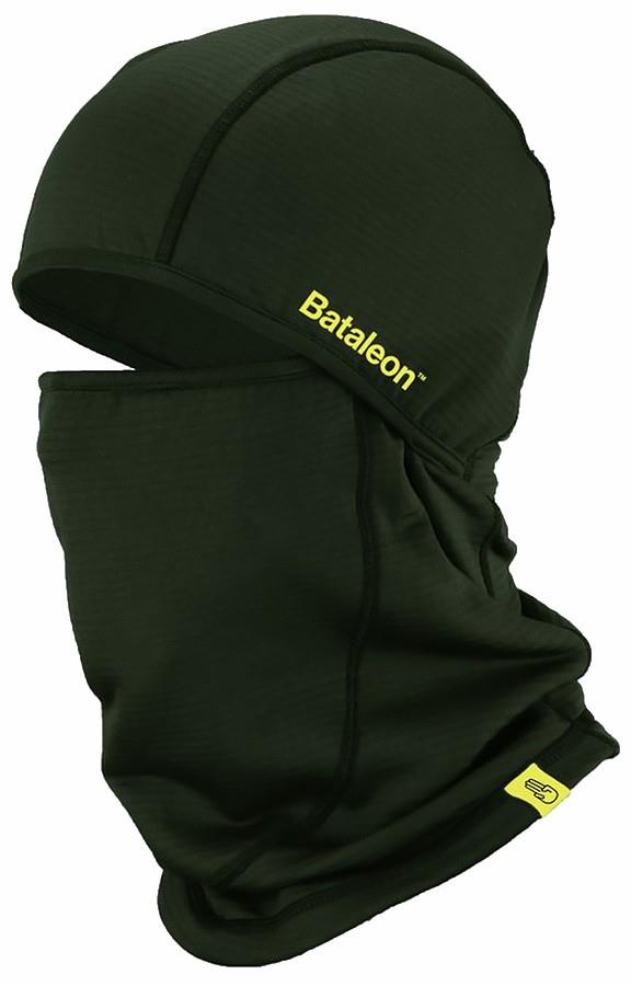 Bataleon Two-Way Mask Fleece Ski/Snowboard Balaclava, Green