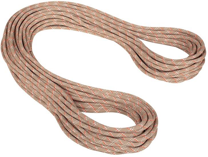 Mammut 9.5mm Gym Classic Rock Climbing Rope, 40m X 9.5mm Desert-White